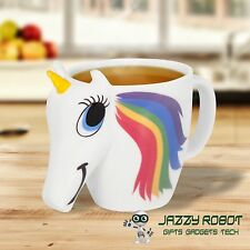 The Original 3D Colour Changing Unicorn Mug Novelty Cup by Thumbs Up! IN STOCK!!