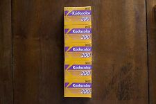5 Rolls Kodacolor 200 35mm films 24 exposure - Expired New Old Stock - Lomo