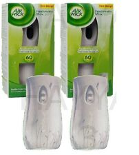 2 X AIRWICK AIR WICK FRESHMATIC AUTOMATIC SPRAY MACHINE UNIT FRESHENER