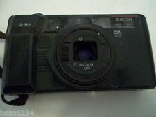 RICOH TF-200 AF SYSTEM DX AUTO 35mm CAMERA WIDE TELE RIKENON LENS