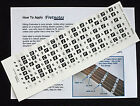 Guitar Fretboard Stickers Note Map Labels LEFT-HANDED + Free Online Lessons