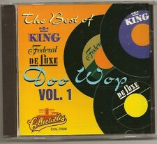 """DOO WOP, CD """"THE BEST OF KING FEDERAL & DELUXE  Vol. 1"""" NEW SEALED"""