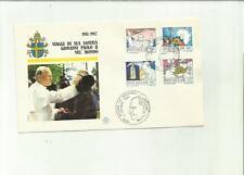 133968 BUSTA PRIMO GIORNO FDC  PAPA GIOVANNI PAOLO II SECONDO 1984