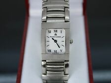 Women's Maurice Lacroix Stainless Steel 32838 Roman Numeral 18mm Wristwatch
