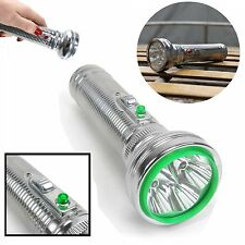 Flashlight 2000 Lumen Chrome Vintage Style t6