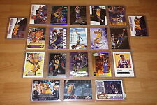 LOT OF (20) -- KOBE BRYANT -- ** BASKETBALL CARDS ** 3 -- INSERTS -- HIGH VALUE!