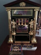 Caesars Palace Slot Machine by (Franklin MINT) LAS VEGAS SOUVENIR COLLECTIBLE