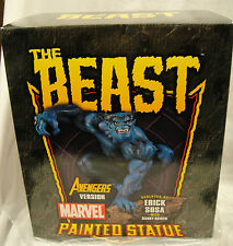 SIGNED & SKETCHED By R. BOWEN The BEAST POLYSTONE STATUE AVENGERS X-MEN Sideshow