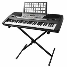 New Adjustable Metal Music Keyboard Electronic Piano X Stand Portable Rack US EK