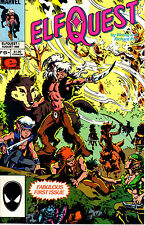 Elfquest (Marvel 1985) #1 Are these Richard & Wendy's signatures - let us know