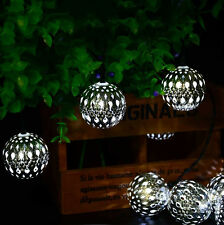 Christmas Wedding Party Decor LED  Garden Yard Outdoor Fairy Solar String Lights