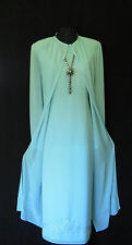 CONDICI Wedding Outfit Size 18 20 Blue Dress & Coat Mother of the Bride Designer