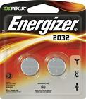 Energizer CR 2032 Lithium Coin 3V Batteries 2-Pack 2032BP-2 Exp: 2023