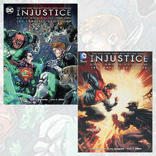 Injustice Gods Among Us: Year One, Year Two 2 Books Collection By Tom Taylor NEW