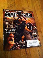 GAMEINFORMER #175 Game Informer BRUTAL LEGEND Tokyo Show Metal Gear Solid  Video