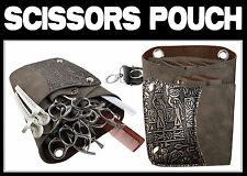 Hairdresser Bag Pouch For Hair Scissors & combs  Hold up to *  6 SCISSORS  *