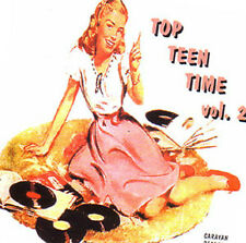 V.A. - TOP TEEN TIME - Volume 2 - 60's Teenage Songs CD