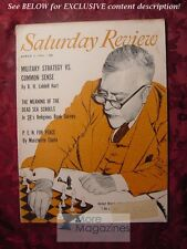 Saturday Review March 3 1956 DEAD SEA SCROLLS NORBERT WIENER MARCHETTE CHUTE
