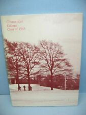 1985 Freshman Record Book, Connecticut College, New London, Connecticut Yearbook