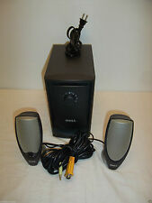 Dell Zylux A425 Multimedia 2.1-Channel PC Speaker w/Subwoofer G2020 W8037 N1818