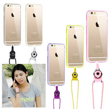 Cell Phone Case Cover With Rope Strap Lanyard for iPhone6 Plus/ 6S Plus