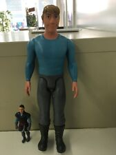 Lot Of 2 Frozen Kristoff Action Figures 4 Inch & 12 Inch