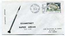 1975 Exametnet Super Arcas 35/84 Kourou Guyane Francaise Ville Spatiale SPACE