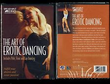Art of Erotic Dancing - Learn How To Pole, Floor, Lap Dancing - Brand New DVD