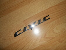 Honda Civic Tailgate Rear Badge Logo Chrome Emblem 2006 2007 2008 2009 2010 2011