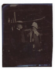 TINTYPE Photograph Young Victorian Children