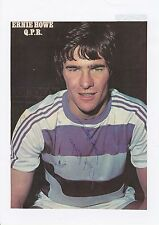 Ernie howe queens park rangers 1977-1982 original hand signed magazine cutting