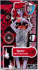 MONSTER HIGH MONSTER FASHION OPERETTA von MATTEL Kleidung Puppe NEUWARE