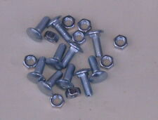 48 49 50 51 52 FORD TRUCK FRONT FENDER INNER SPLASH BOLT KIT  10 PIECE SET ) NEW