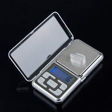 LCD Pocket Digital Jewelry Scale Weight 500g 0.1g Balance Electronic Gram EA