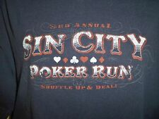 Aeropostale Sin City Poker Run T Shirt Size Large