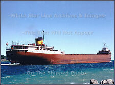 Photo: SS Edmund Fitzgerald Upbound On St Mary's River, Color, 1967