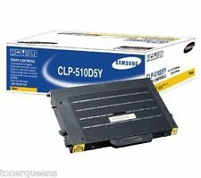 NEW ! GENUINE SAMSUNG CLP-510D5Y CLP510n 510 CLP510 Yellow toner High Yield