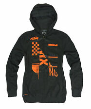 New FOX RACING Mens KTM  KONSTRUCT Hoody Size Medium Motocross Hoodie Zip Jacket