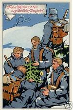 German Army Christmas Print 1914 World War 1, 6x4 Inch Reprint