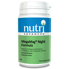 Megamag NIGHT FORMULA-CAMOMILLA - 169G polvere da Nutri Advanced-MAGNESIO