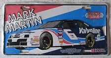 1990's MARK MARTIN NASCAR DRIVER # 6 VALVOLINE BOOSTER License Plate