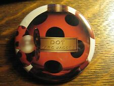 Marc Jacobs Dot Perfume Lady Bug Bottle Advertisement Pocket Lipstick Mirror