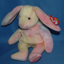 Ty Beanie Baby Hippie - MWMT (Bunny 1998) Easter colors will vary
