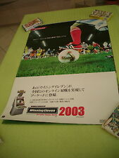 WORLD SOCCER WINNING ELEVEN 2003 KONAMI ARCADE B1 SIZE OFFICIAL POSTER!