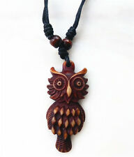 1PCS Tibet Punk Men's Cool Real Gothic owl Necklace Domineering Pendant