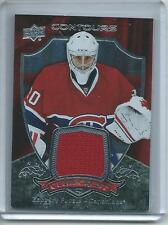 2015-16 UD Contours Hockey #CC-9 Zachary Fucale Canadiens CLUB CREST RELIC!!!