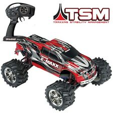 Traxxas E-Maxx 16.8V 4WD RTR RC Monster Truck RED w/TSM Stability Mgmt - 39036-4