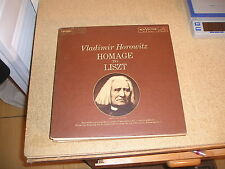 HOMAGE TO LISZT, HORIWITZ, RCA LM 2584, FUNERAILLES, HUNGARIAN RHAPSODY 2 AND 6