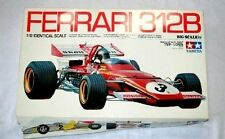 Tamiya 12007 Red Ferrari 312B 1/12 Big Scale Car Plastic Model From Japan B1122