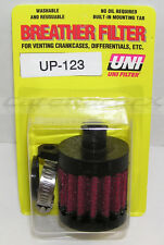 """UNI UP-123 Fits 1/2"""" ID Hose Crankcase Differential Head Vent Breather Filter"""